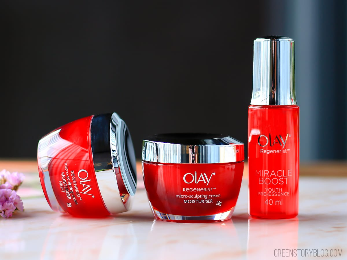 Olay Regenerist Advanced Anti Aging 28 Days Vs Years Of Age Sign Micro Sclupting Serum By