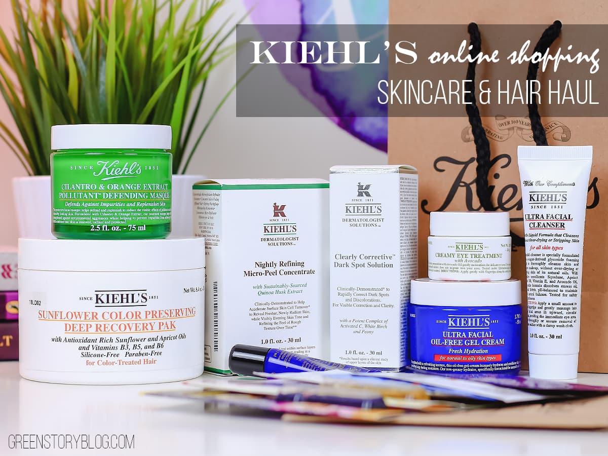 kiehls-online-shopping-haul