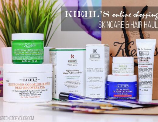 Kiehl's Online Shopping Experience | Skincare and Hair Care Haul