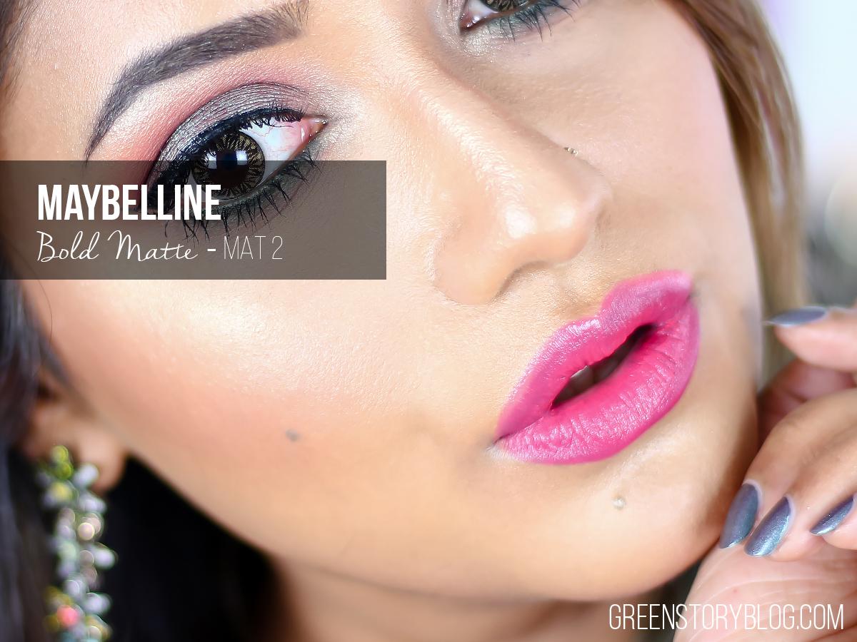 Maybelline Bold Matte Lipstick - MAT2