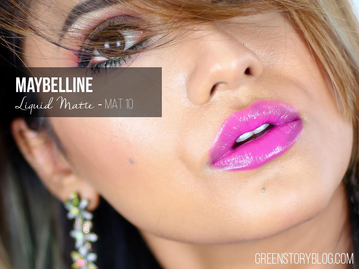 Maybelline Liquid Matte Lipstick - MAT10