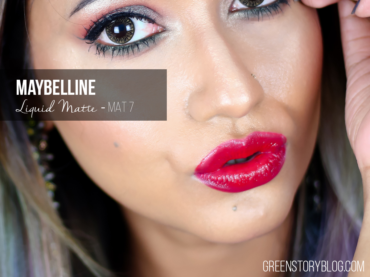 Maybelline Liquid Matte Lipstick - MAT7
