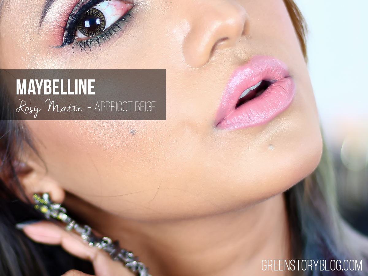 Maybelline Rosy Matte Lipstick - Apricot Beige