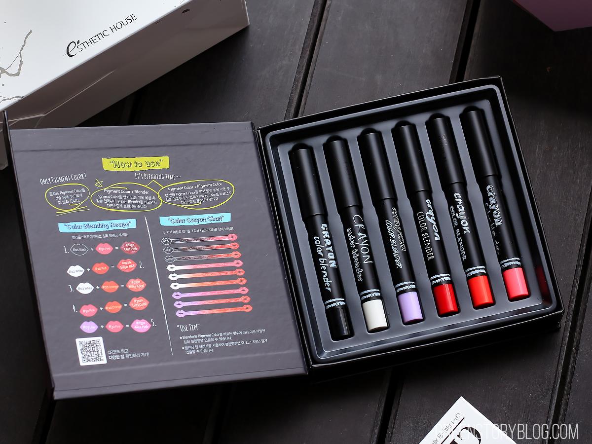 VELIEVE Bellamonster Crayon Color Blender Set