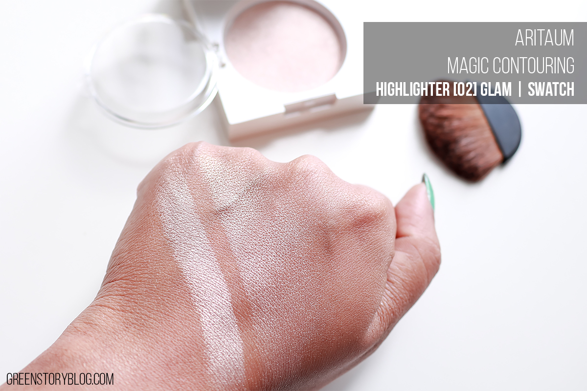 Aritaum Highlighter | Glam Swatch