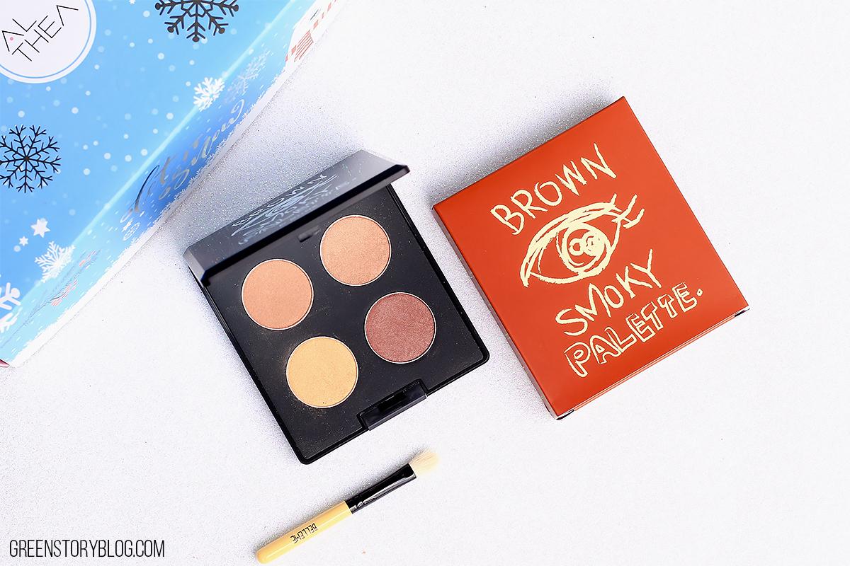 Belleme Brown Smokey Eyeshadow Palette