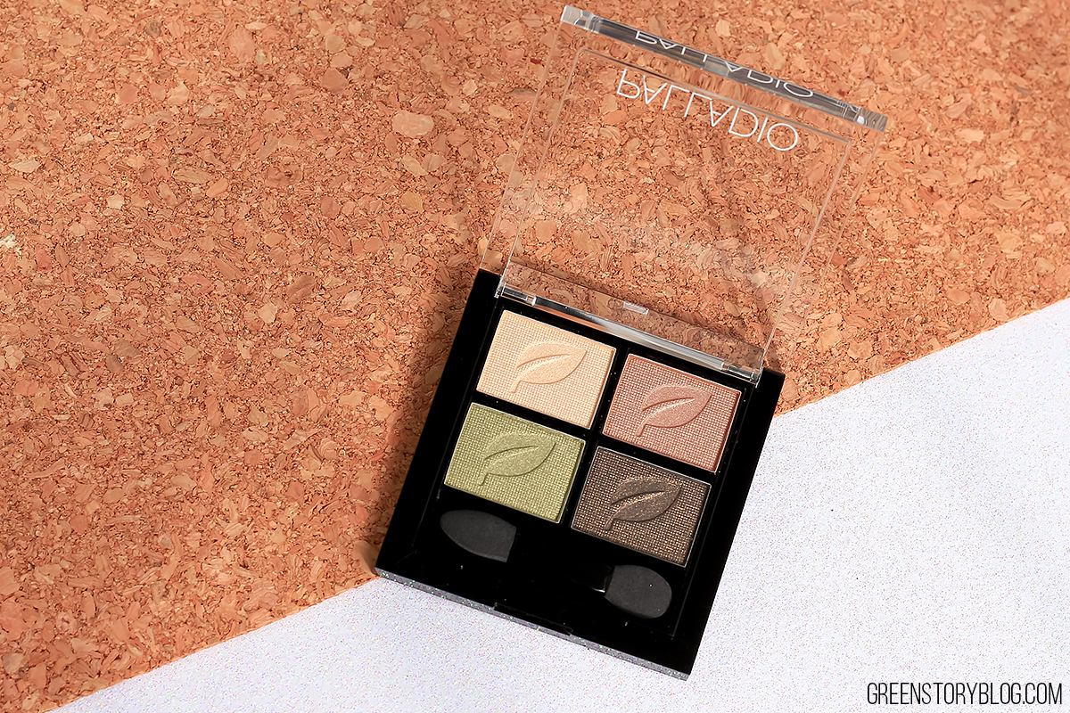 Palladio Eyeshadow Quad - Green To Go