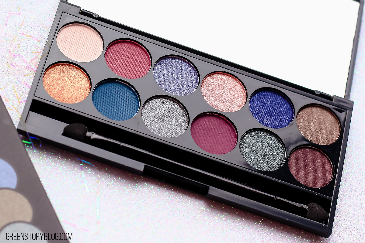 Sleek Enchanted Forest Eyeshadow Palette