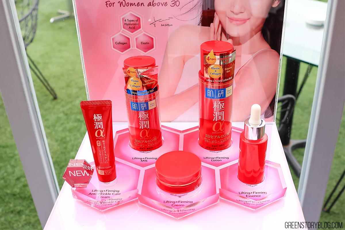 New Hada Labo Lifting & Firming Skincare Range