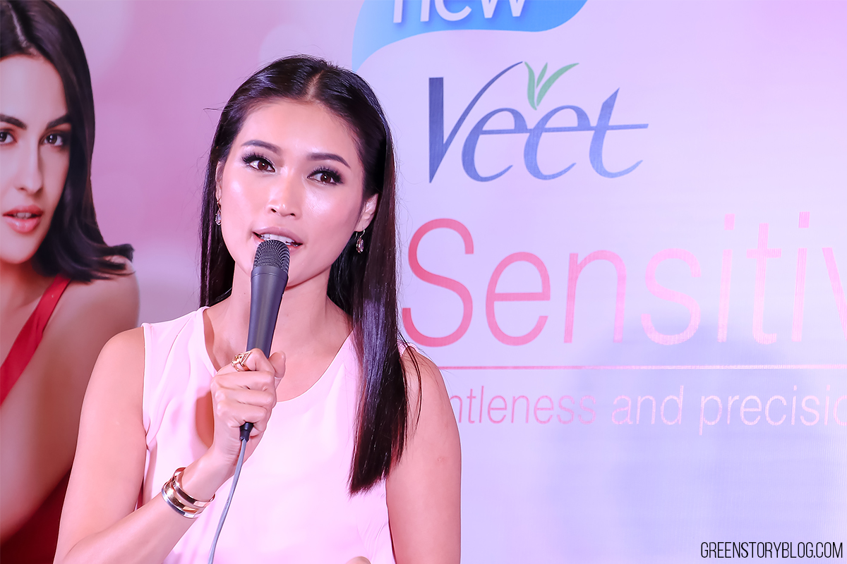 Amber Chia for Veet Hair Removal Device | For Women On The Go