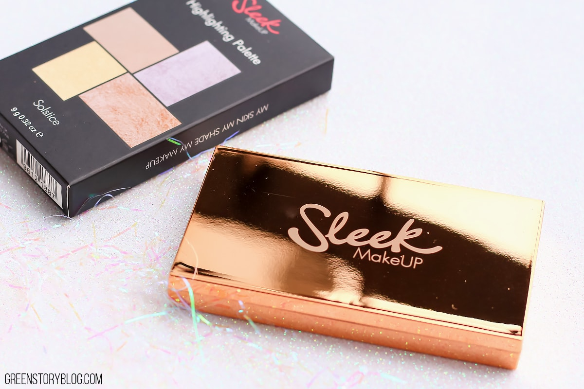 Sleek Solstice Highlighting Palette | A Drugstore Gem or Not?