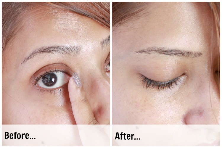 Veet Sensitive Touch Eye Brow Hair Trimming Device | Before and After