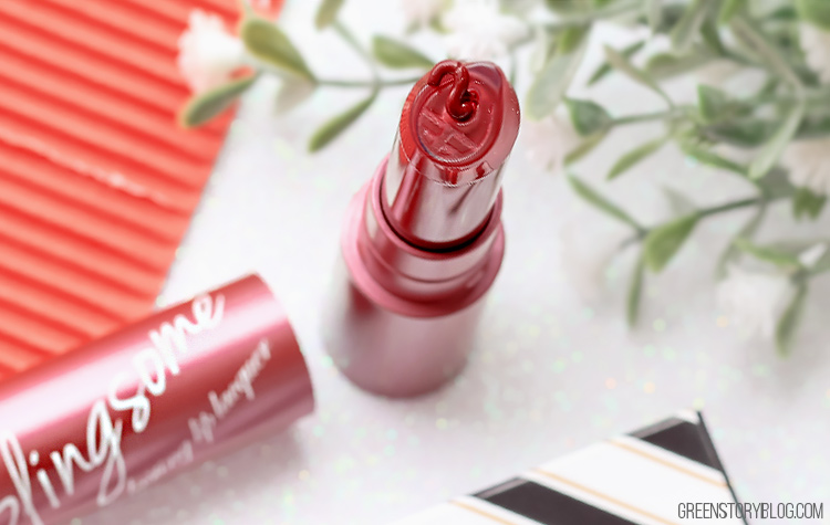 Blingsome Longlasting Lip Lacquer - Burgundy