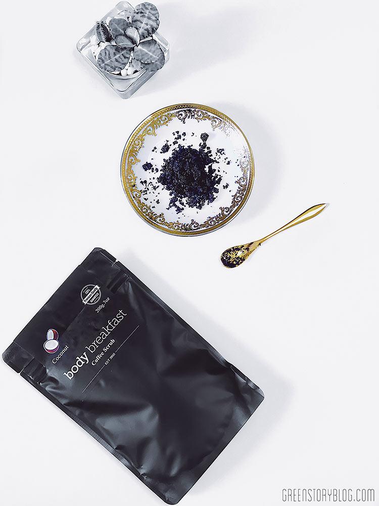 coffee scrub for body