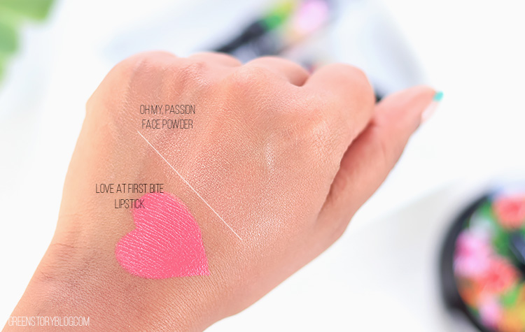 MAC Fruity Juicy Collection | Face Powder and Lipstick Swatch