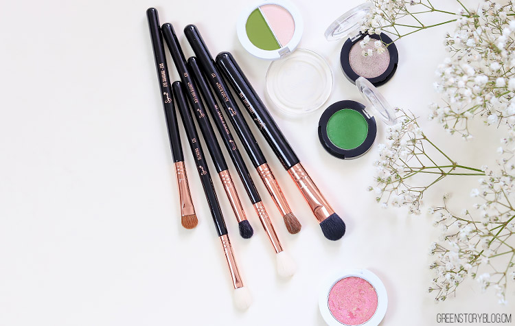 Sigma Beauty Ultimate Eye Brush Set | This Copper Eye Makeup Brush Set has every brushes you'll ever need