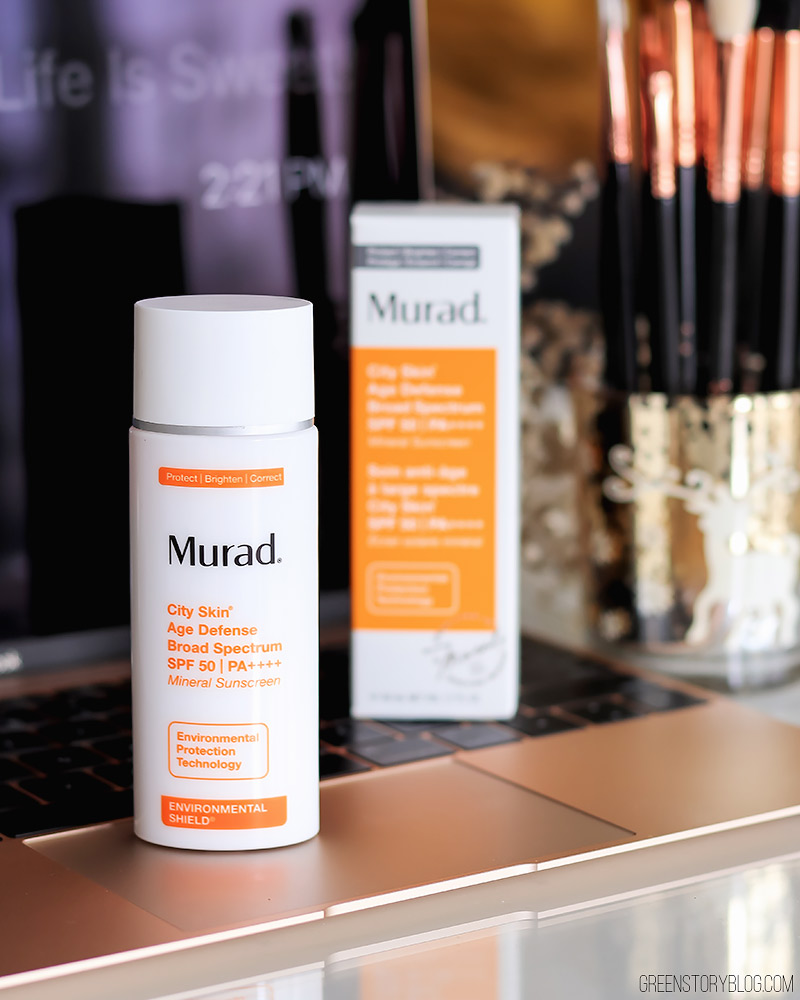 Stay Bright, Shine Free and Protected with Murad City Skin Age Defense Mineral Sunscreen