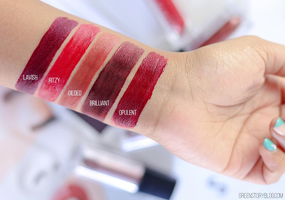 Palladio Velvet Matte Metallic Lipstick