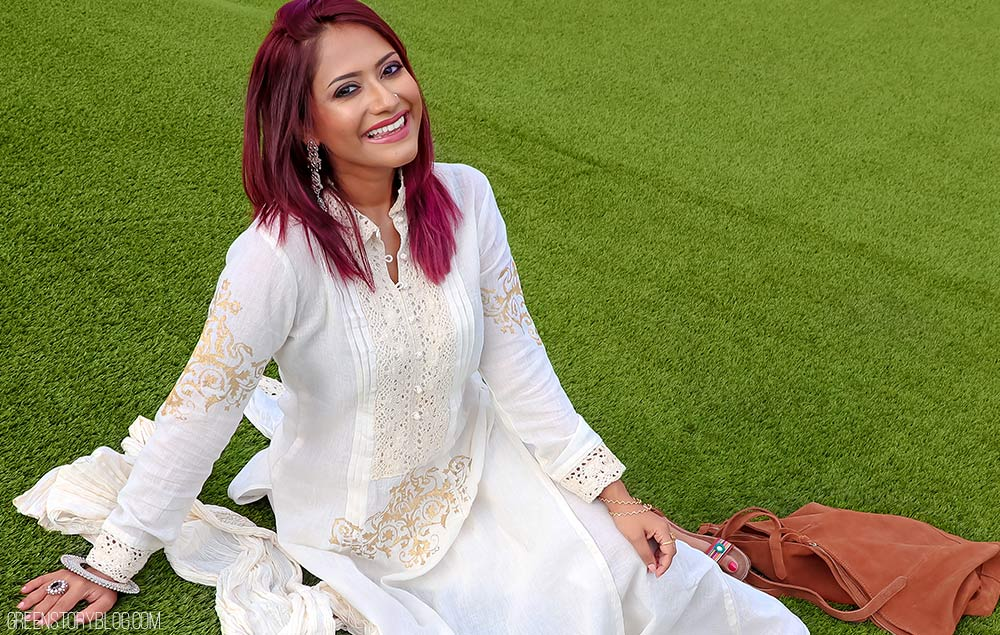 All About White | Beat the Heat in Desi Style Summer Outfit
