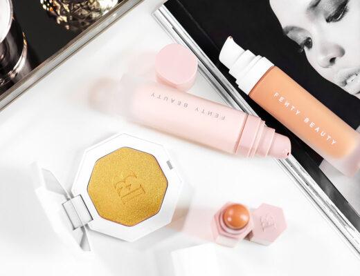 Fenty Beauty - Foundation, Primer, Concealer, Highlighter