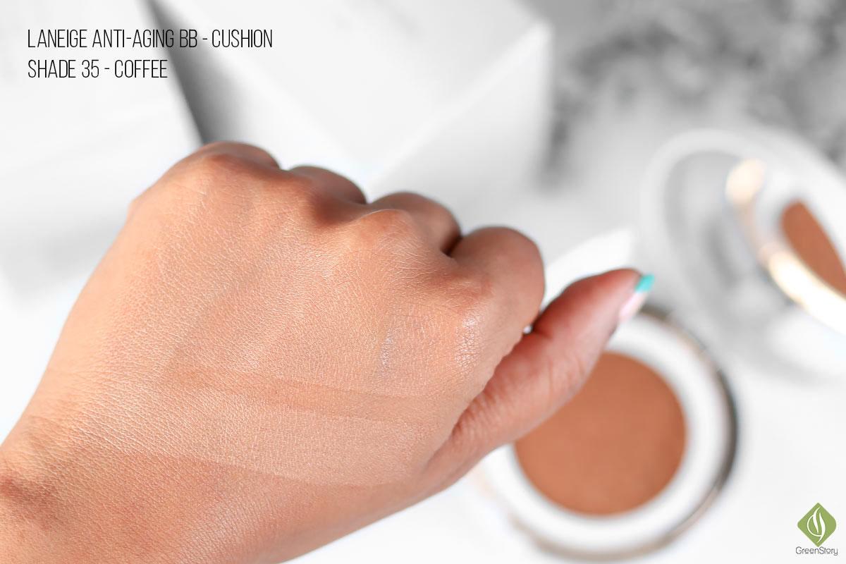 Laneige BB Cushion Anti-aging | SPF 50+ PA+++ | Shade 35 Coffee