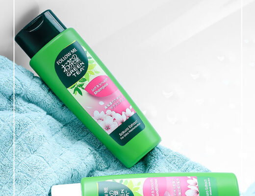 Follow Me Green Tea Shampoo and Conditioner