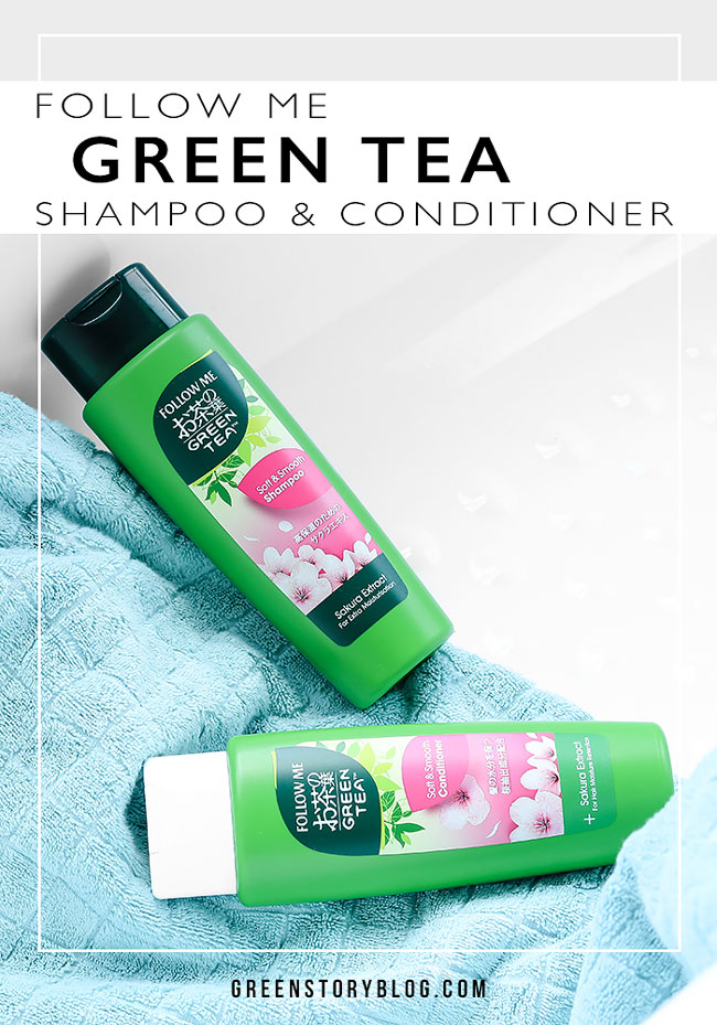 Follow Me Green Tea Shampoo and Conditioner