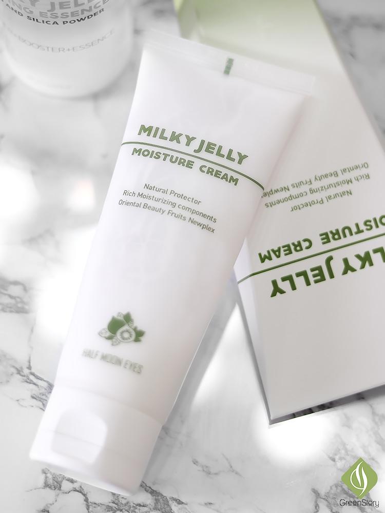 Half Moon Eyes Skincare | Milky Jelly Moisture Cream