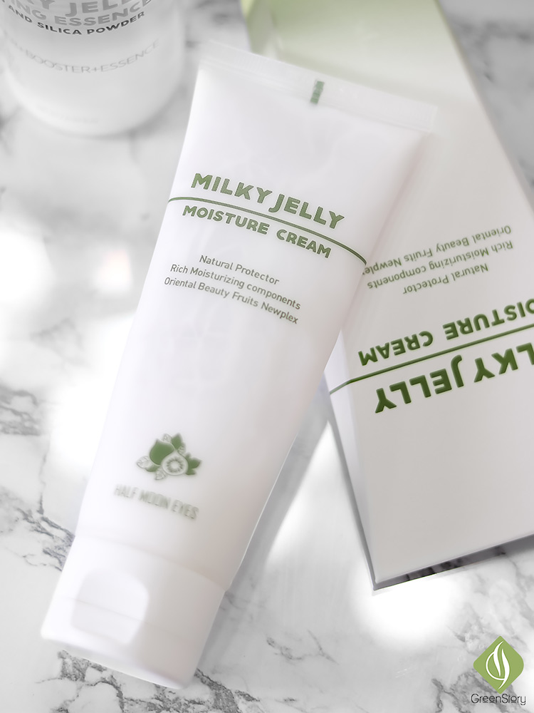 Half Moon Eyes Skincare | Milky Jelly Moisture Cream