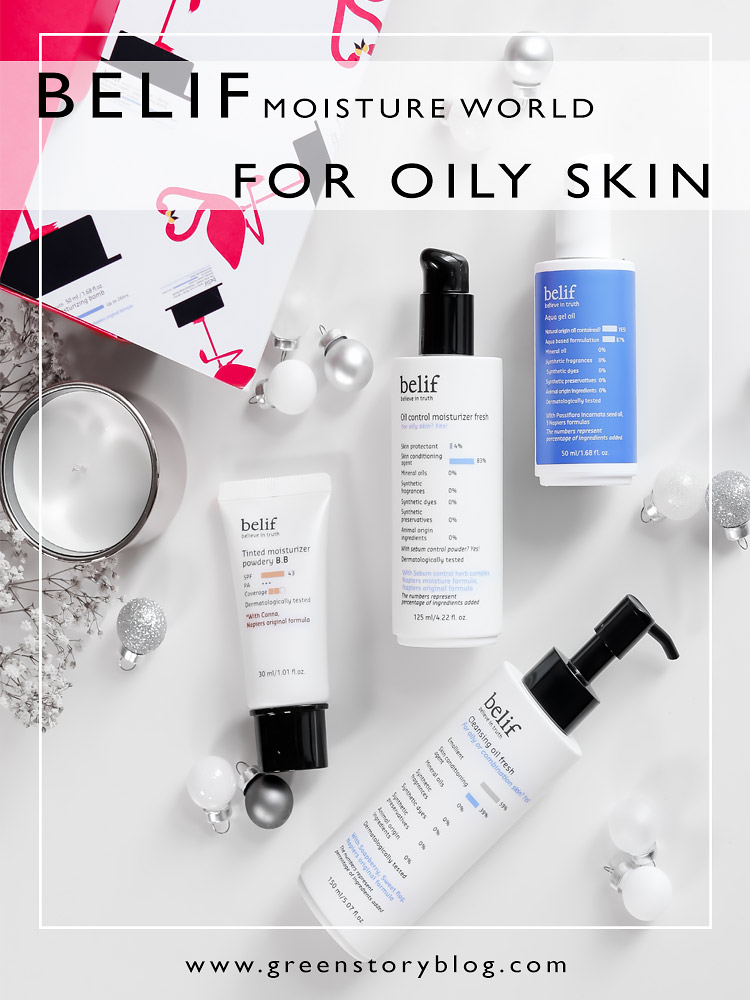 4 Belif Skincare Products For Oily Skin | Moisturiser, Cleansing Oil, Aqua Gel Oil & Tinted Moisturiser