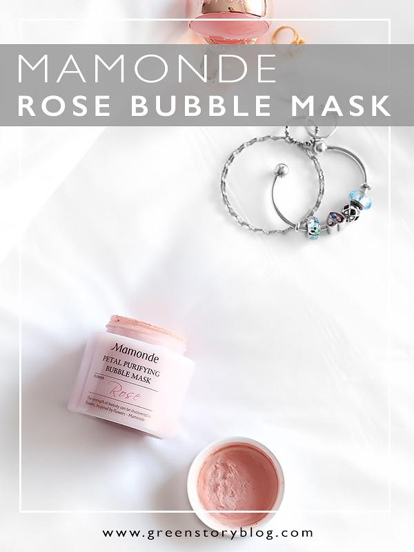 Mamonde Petal Purifying Bubble Mask - Mamonde Rose Bubble Mask