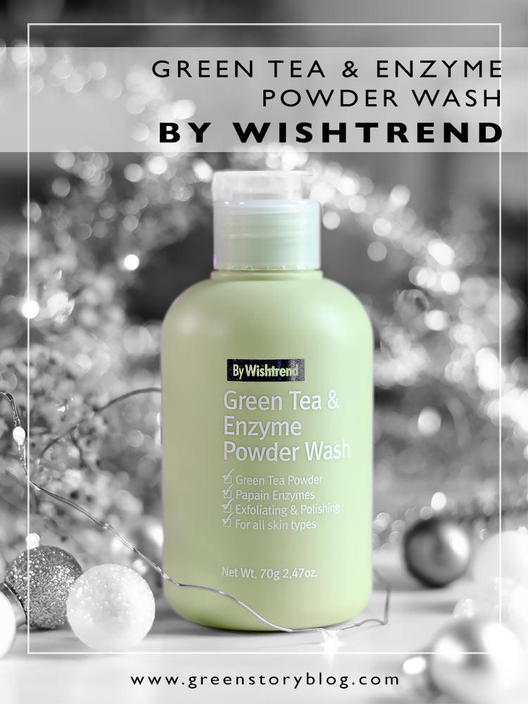 Wishrend Green Tea and Enzyme Powder Wash