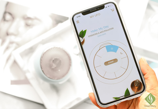Foreo UFO Iphone App