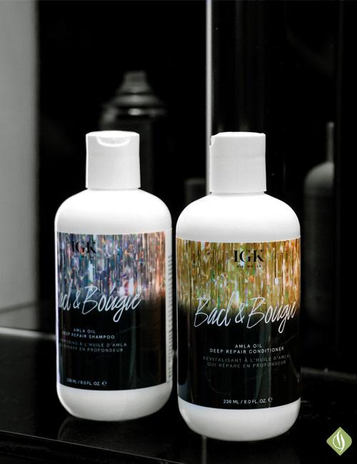 IGK amla oil shampoo and conditioner
