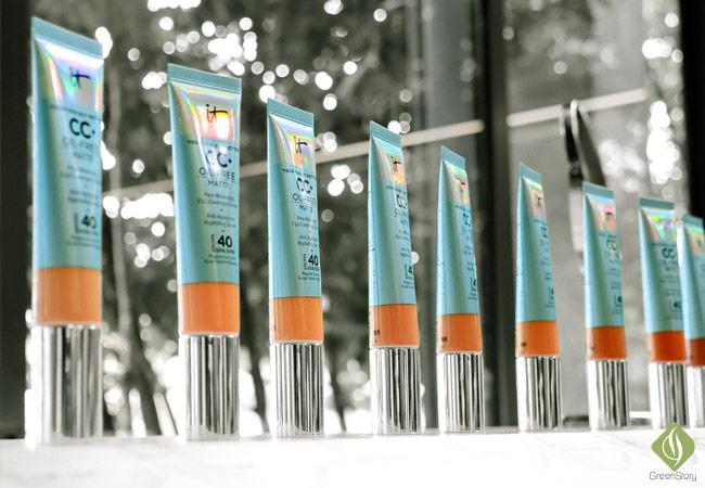 New IT Cosmetics oil-free matte CC cream