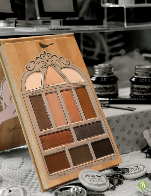 pretty vulgar eyeshadow palette | nightingle
