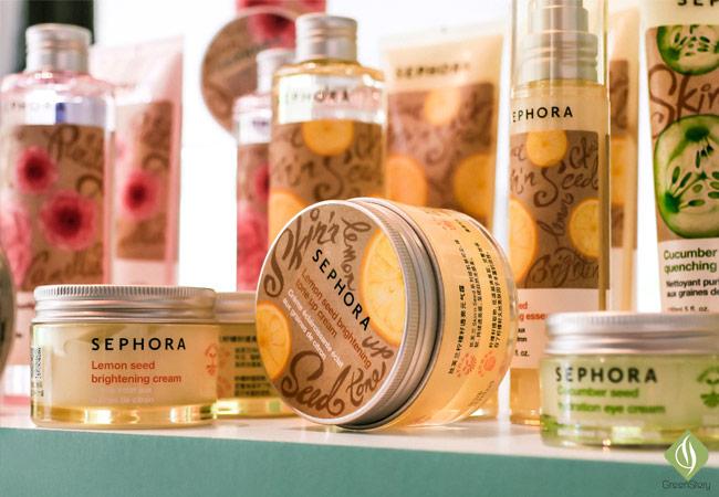 shephora lemon seed skincare collection