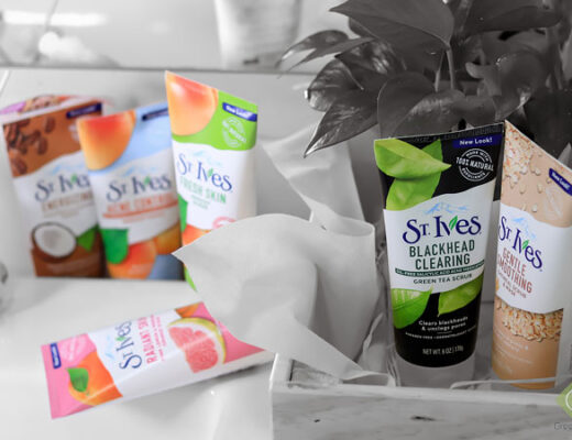St Ives Scrub all six type review and swatch