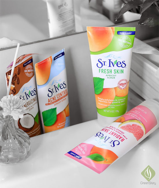 St Ives apricot scrub for oily to combination skin