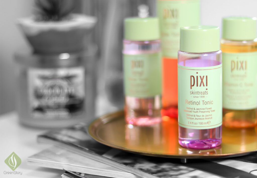 retinol tonic for combination skin | pixibeauty