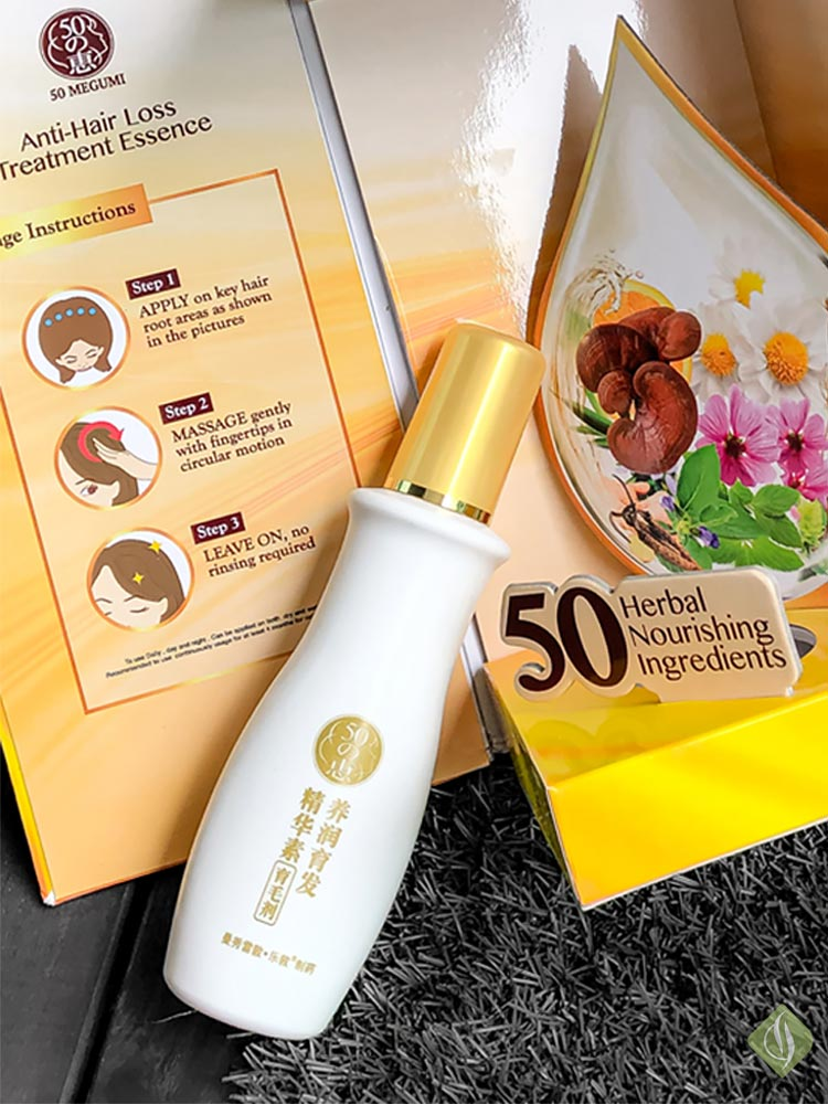 50 Megumi Anti Hair Loss Treatment Essence