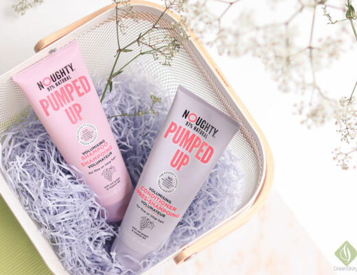 Noughty Haircare - Pumped Up Volumising Shampoo & Conditioner