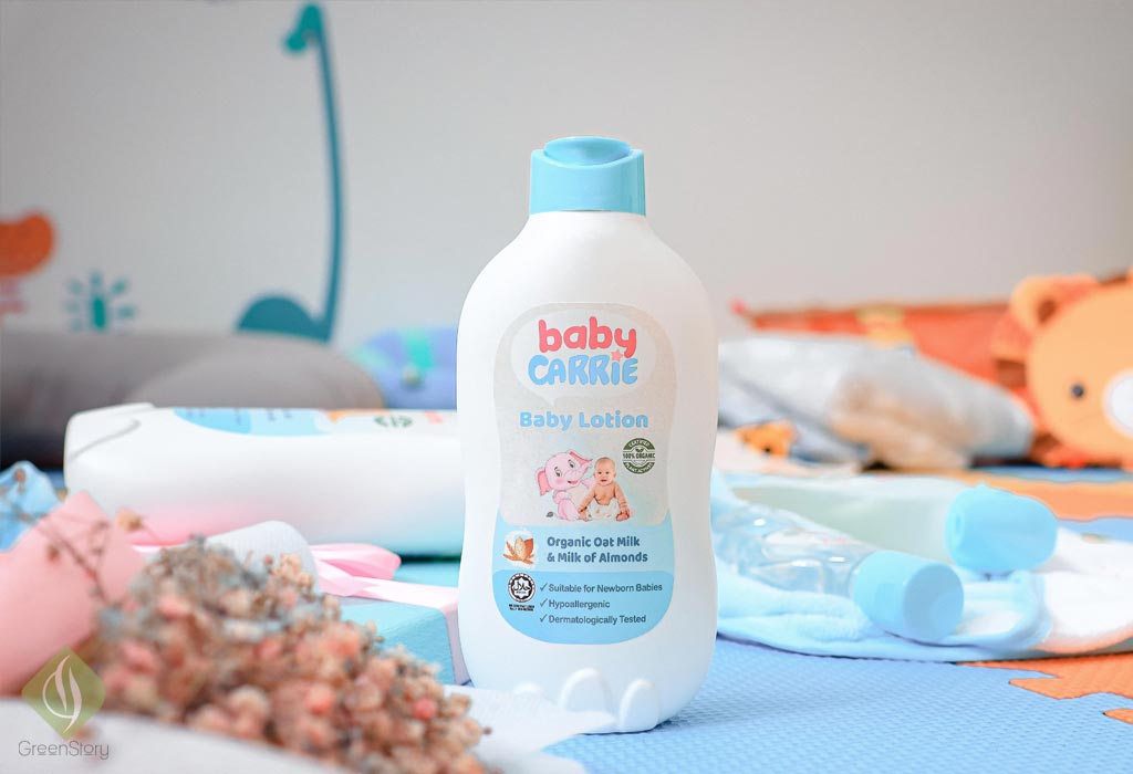 carrie baby lotion | mother story