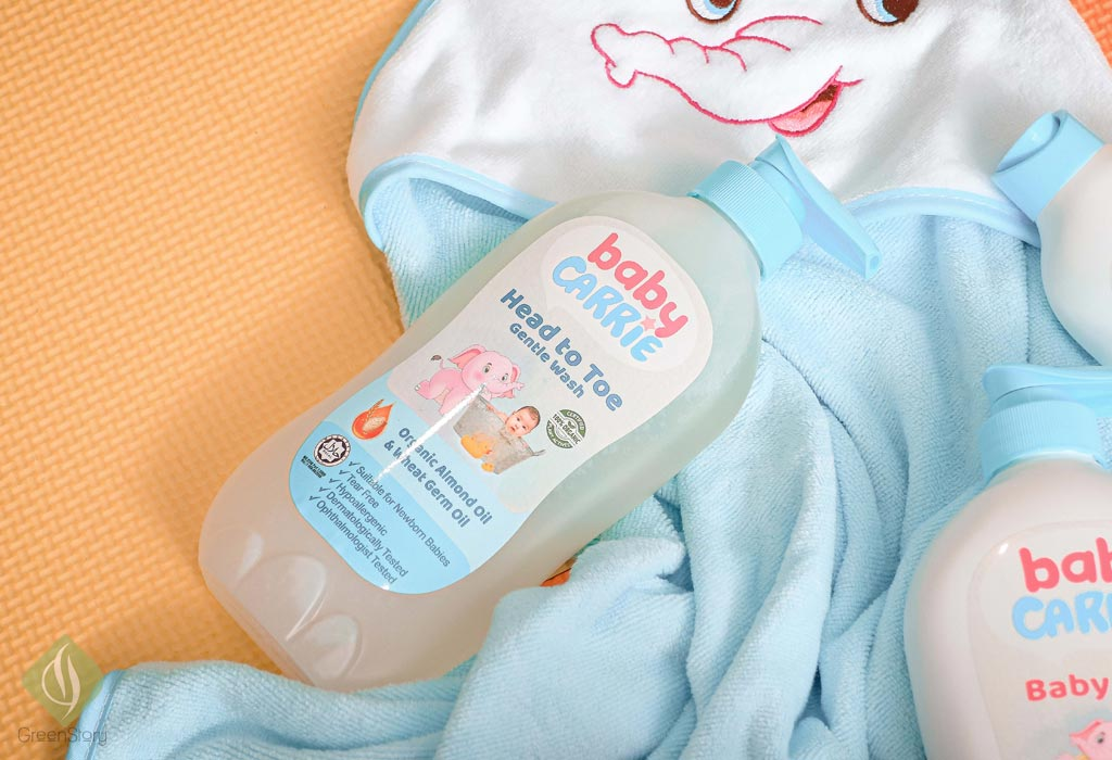Carrie baby | Organic and Halal Certified Toiletries for the infant