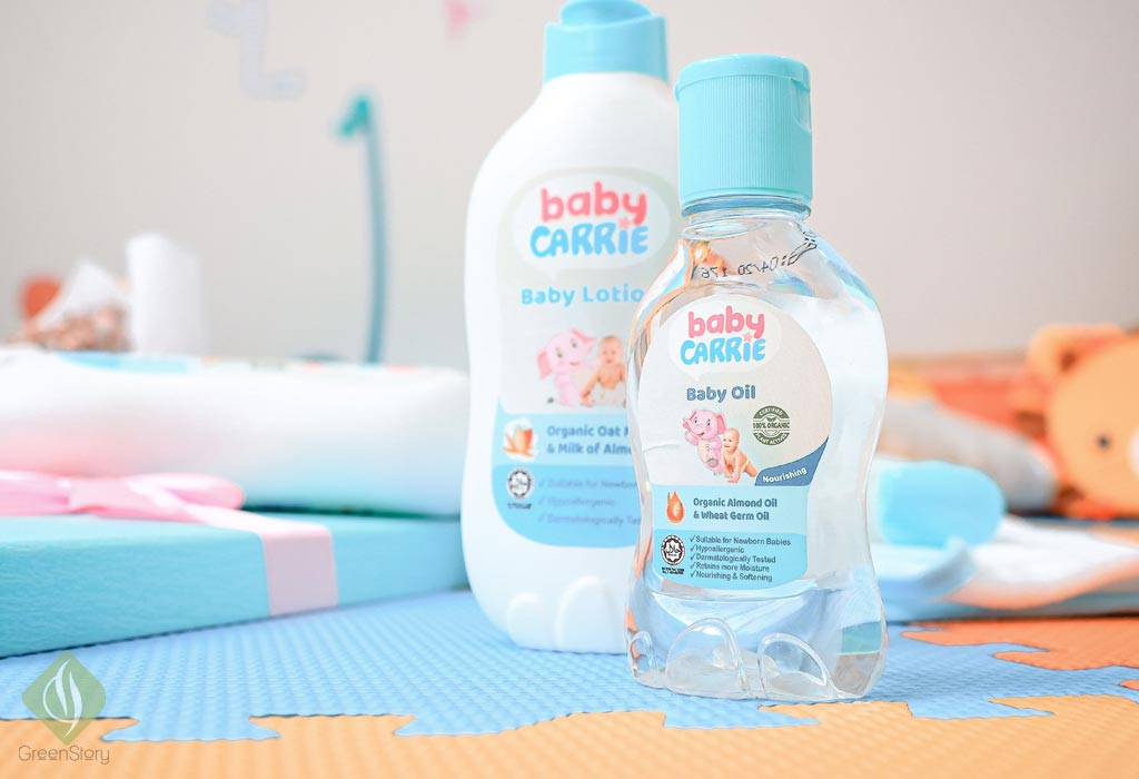 carrie baby oil | motherstory - parenting blogger malaysia