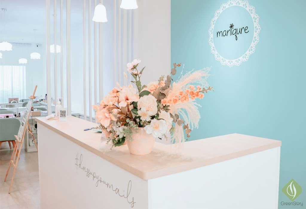 Gel Manicure & Nail Art Experience at Maniqure Nail Salon, KL | #dressupMYnails