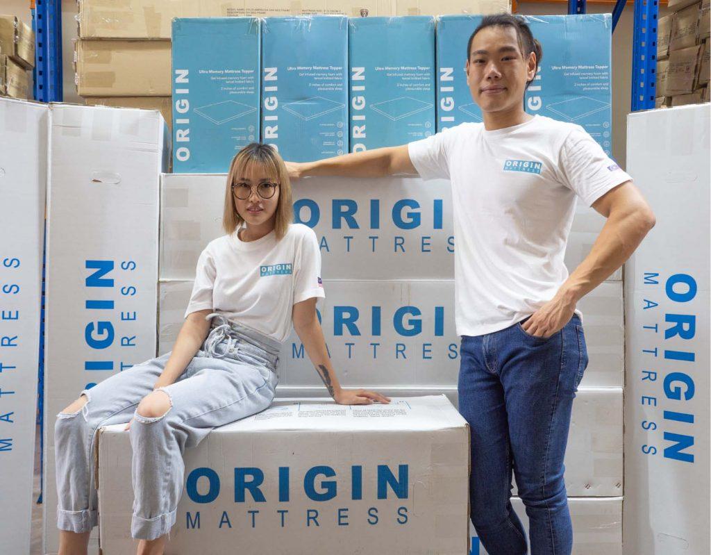 founder of Origin Pillow