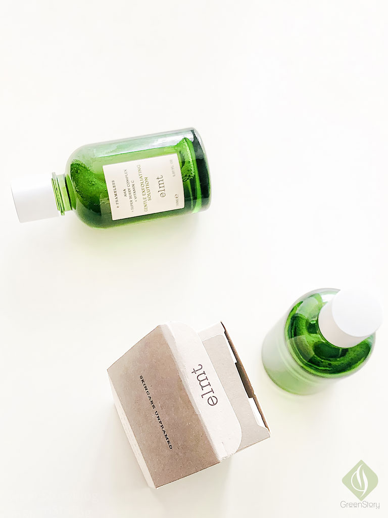 elmt solutions | Advance Calming Solution and Gentle Exfoliating Solution